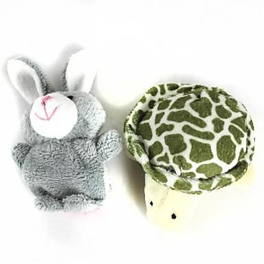 Rabbit Fingerpuppen Marionetten Niedlich Neuartige lieblich Zeichentrick Plüsch Baumwolle Jungen Mädchen Spielzeuge Geschenk