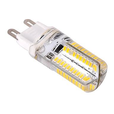 Ywxlight® g9 conduziu luzes de milho 80 leds smd 3014 dimmable branco quente branco frio 400lm 2800-3200k ac 220-240v