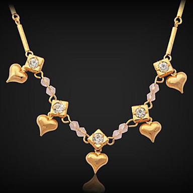 Ketten Kragen Statement Ketten Stränge Halsketten Kupfer Strass vergoldet Ketten Kragen Statement Ketten Stränge Halsketten . Hochzeit