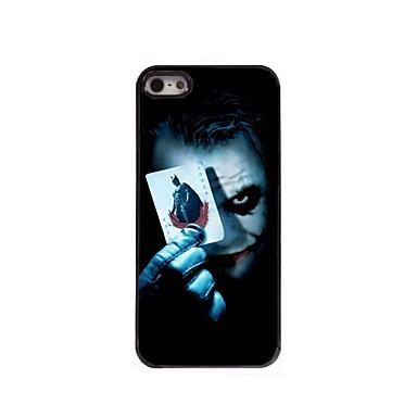caso difícil coringa design de alumínio para iPhone 5 / 5s