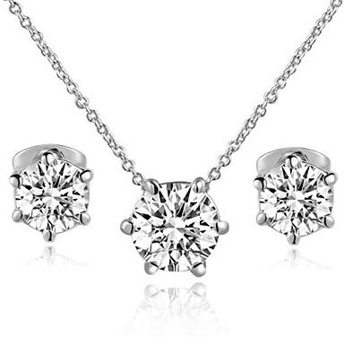 Κοσμήματα-Κολιέ / Cercei(Κρύσταλλο)Γάμου / Πάρτι / Causal Δώρα Γάμου
