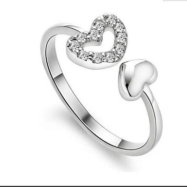 liefdevolle persoonlijkheid dubbele ring huwelijksfeest elegante vrouwelijke stijl