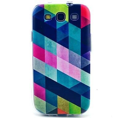Για Samsung Galaxy Θήκη Με σχέδια tok Πίσω Κάλυμμα tok Γεωμετρικά σχήματα TPU Samsung S3