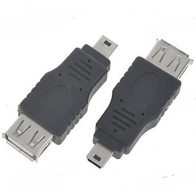 Mini USB minismile ™ on-the-go φιλοξενήσει OTG προσαρμογέα (2-pack)