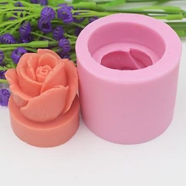 ψήσιμο Mold Λουλούδι Σοκολατί Μπισκότα Κέικ Καουτσούκ Σιλικόνης Φιλικό προς το περιβάλλον Υψηλή ποιότητα Αντικολλητικό