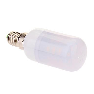 420 lm E14 LED-maïslampen T 24 leds SMD 5630 Warm wit Koel wit AC 220-240V