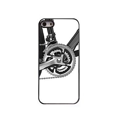 Para Capinha iPhone 5 Case Tampa Estampada Capa Traseira Capinha Preto e Branco Rígida PC para iPhone SE/5s iPhone 5
