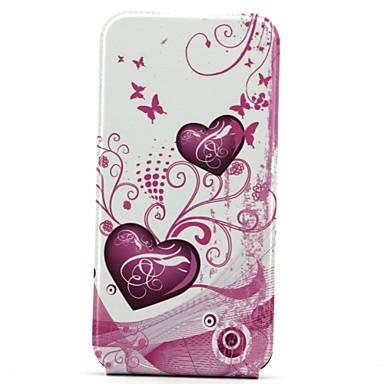 openen op en neer liefde patroon telefoon beschermende schelp full body case voor de iPhone 6 plus
