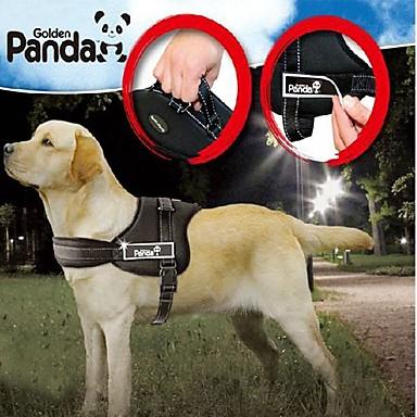 Köpek Koşum Takımı Ayarlanabilir / İçeri Çekilebilir Dolgulu Naylon Siyah Kırmzı Kamuflaj Rengi