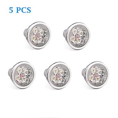 GU10 LED-gloeilampen 4 leds Krachtige LED Warm wit Koel wit 360lm 3500/6000K AC 85-265V