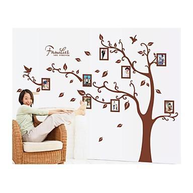 Karton Botanik Duvar Etiketler Uçak Duvar Çıkartmaları Fotoğraf Çıkartmalar, Vinil Ev dekorasyonu Duvar Çıkartması Duvar