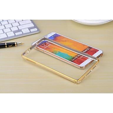 Voor Samsung Galaxy Note Other hoesje Bumper hoesje Effen kleur Metaal Samsung Note 3