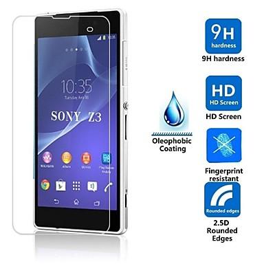 Ekran Koruyucu Sony için Sony Xperia Z3 Temperli Cam 1 parça Yüksek Tanımlama (HD)