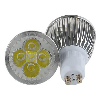 180-210 lm GU10 LED-spotlampen MR16 5 leds Krachtige LED Warm wit Koel wit AC 85-265V