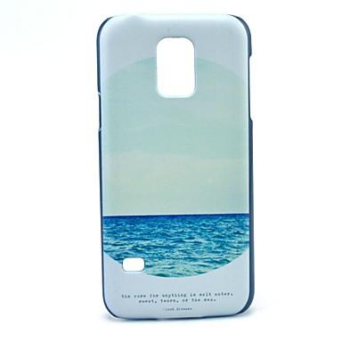 hoesje Voor Samsung Galaxy Samsung Galaxy hoesje Patroon Achterkant Landschap PC voor S5 Mini