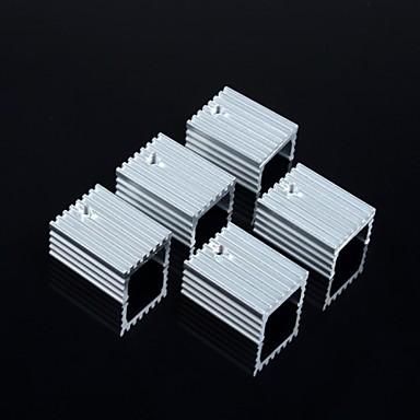 ψύκτρα 15 * 10 * 20 χιλιοστά / να-220 τρανζίστορ και άλλων ειδικών (5pcs)