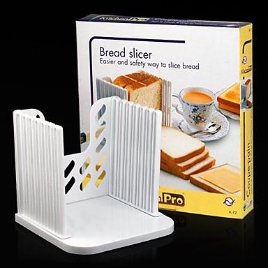 torradas de pão de sanduíche fatiador cortador molde guia cozinha fabricante de ferramentas de corte de 16 * 16 * 2cm