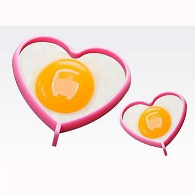 Aço Inoxidável termo-isolante para ovos Mold DIY