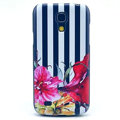 Για Samsung Galaxy Θήκη Με σχέδια tok Πίσω Κάλυμμα tok Λουλούδι PC Samsung S4 Mini