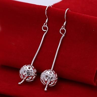 Druppel oorbellen Sterling zilver Sieraden Voor Bruiloft Feest Dagelijks Causaal 2 stuks