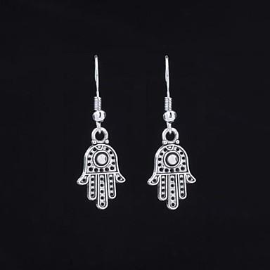 Σκουλαρίκι Κρεμαστά Σκουλαρίκια Κοσμήματα 2pcs Γάμου / Πάρτι / Καθημερινά / Causal / Αθλητικά Κράμα Γυναικεία Ασημί