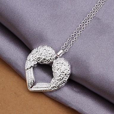 925 zilveren vleugels van liefde hanger ketting (1 stuk) elegante stijl