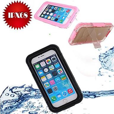 Design Especial/Transparente/Esportes e Fitness - iPhone 6 Plus -Capa com Suporte/Capa para Esportes & Lazer/Capa a prova d'água/Capa Proteção