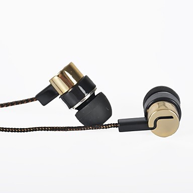 Ενσύρματο - Μέσα στο Αφτί - Κλασσικό/Κινούμενα σχέδια/Νεωτερισμός/Ρετρό/Στυλάτο - Ακουστικά (Ψείρες) (Χρυσό ,Μικρόφωνο/MP3/Αντήχηση/Φορητό/Ακουστικά