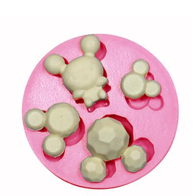 Siliconen schimmel cake decoratie siliconen schimmel voor fondant snoep ambachten sieraden pmc hars klei