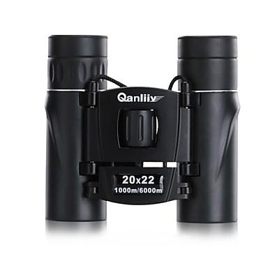 Qanliiy 20X22 Κιάλια Υψηλή Ανάλυση Αδιάβροχη Νυχτερινή Όραση Spotting Scope Θήκη μεταφοράς Γενικός BAK4 Multi-Stratificat Întreg