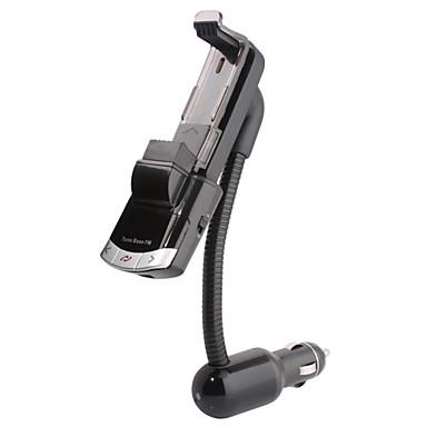 bluetooth handsfree carkit, bluetooth 4.0 / fm-zender / autolader / mobiele telefoon houder