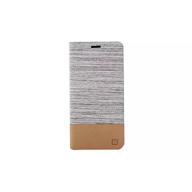 Για Samsung Galaxy Θήκη Θήκη καρτών / με βάση στήριξης / Ανοιγόμενη tok Πλήρης κάλυψη tok Μονόχρωμη Συνθετικό δέρμα Samsung S6