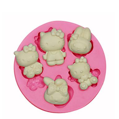 outils de cuisson silicone economique 3d g teau petit g teau tarte animal moule de cuisson. Black Bedroom Furniture Sets. Home Design Ideas