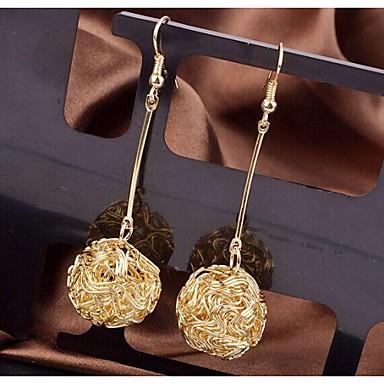 Γυναικεία Κρεμαστά Σκουλαρίκια Επιχρυσωμένο Κράμα Κοσμήματα Γάμου Πάρτι Καθημερινά Causal Αθλητικά Κοστούμια Κοσμήματα