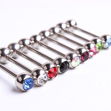 Dames Tepelpiercing Kristal Uniek ontwerp Modieus Anderen Lichaamssieraden Voor Dagelijks Causaal Kostuum juwelen