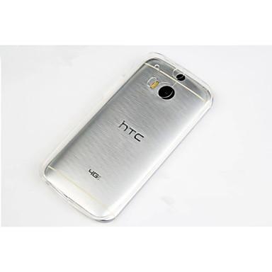 Για Θήκη HTC Εξαιρετικά λεπτή / Διαφανής tok Πίσω Κάλυμμα tok Μονόχρωμη Μαλακή TPU HTC