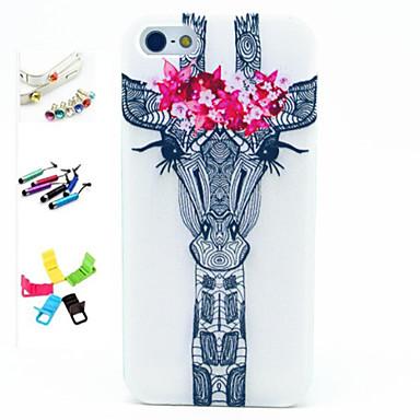 Iphone 5/iPhone 5S - Achterkantje - Cartoon/Speciaal ontwerp/Noviteit/Anime ( Meerkleurig , TPU )