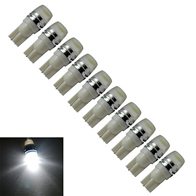 0.5W T10 Sierlampen 1 Krachtige LED 200-250 lm Koel wit 6000-6500 K DC 12 V