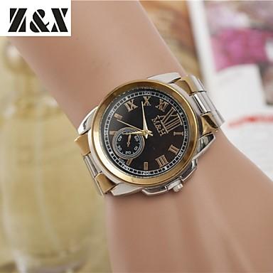 Dames Dress horloge Modieus horloge Polshorloge Kwarts Legering Band Zilver Goud Wit Zwart Gouden