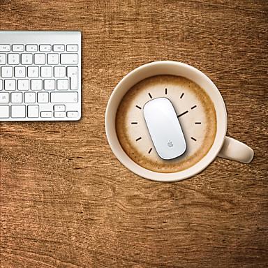 o chá com leite design decorativo mouse pad mac adesivos