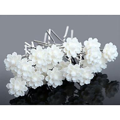 Κρύσταλλο Ακρυλικό Ύφασμα Τιάρες Τσιμπιδάκι 1 Γάμου Ειδική Περίσταση Πάρτι / Βράδυ Causal Headpiece