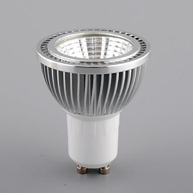GU10 Lâmpadas de Foco de LED MR16 1 COB 450 lm Branco Quente Branco Frio Branco Natural K Regulável AC 110-130 V