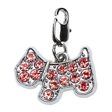 Kat Hond Haaraccessoires Hondenkleding Bruiloft Rood Kostuum Voor huisdieren