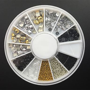 1 Κοσμήματα νυχιών Σετ διακόσμησης Αφηρημένο Μοντέρνα Πανκ Υψηλή ποιότητα Καθημερινά