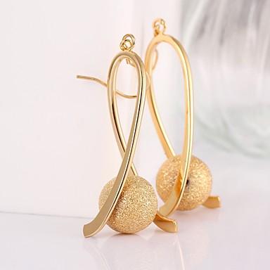 Dames Verguld Ring oorbellen - Koper Verguld Voor Bruiloft Feest Dagelijks