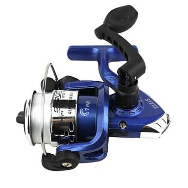 Molinetes de Pesca Molinetes de Isco 5.1:1 0 Rolamentos Trocável Pesca de Mar - SY2000 N/A