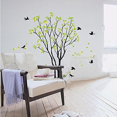αφαιρούμενο μεγάλο αυτοκόλλητο δέντρο PVC τοίχο
