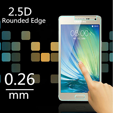 Προστατευτικό οθόνης για Samsung Galaxy A3 Σκληρυμένο Γυαλί Προστατευτικό μπροστινής οθόνης Κατά των Δαχτυλιών