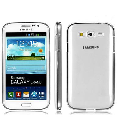 Voor Samsung Galaxy hoesje Transparant hoesje Achterkantje hoesje Effen kleur PC Samsung Grand Neo