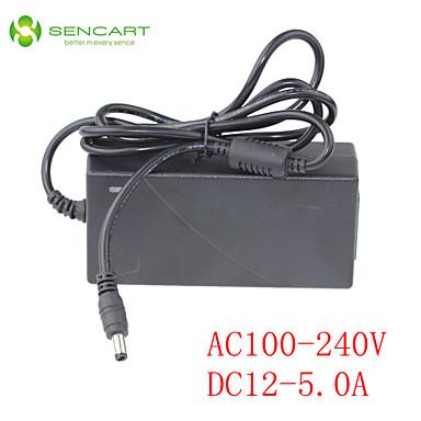 SENCART 1m / 1.5m Güç Adaptörü LED'ler Bağlanabilir 100-240 V